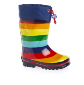 Molo striped wellies