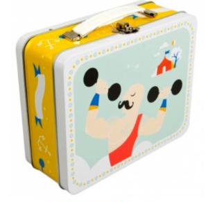 Strongman tin suitcase