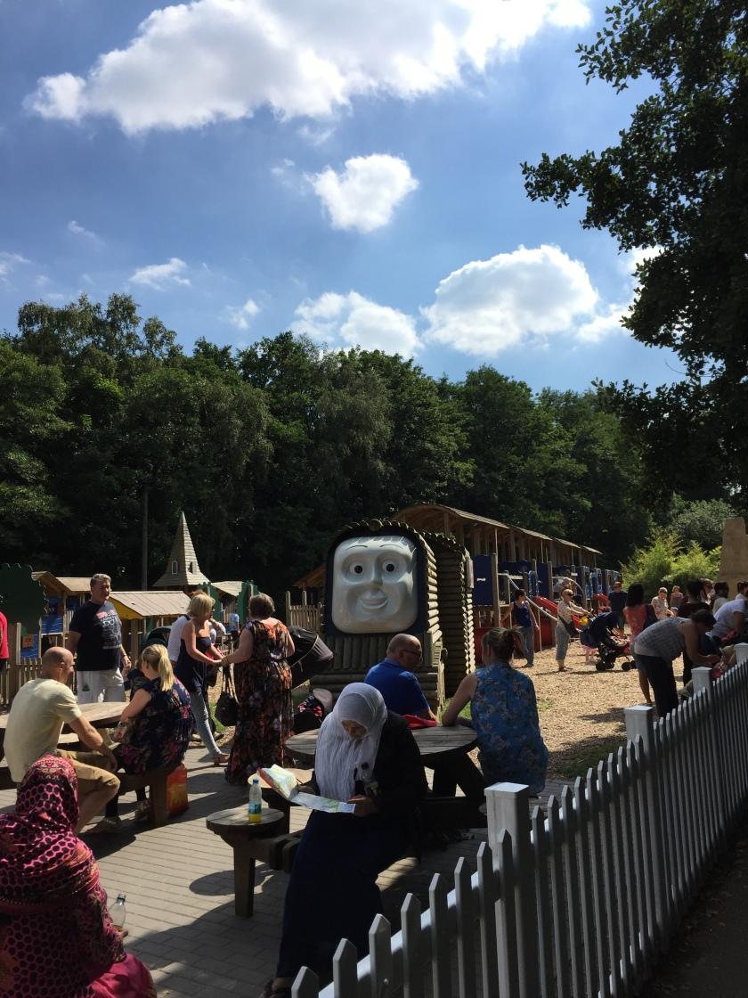 The outdoor adventure playground