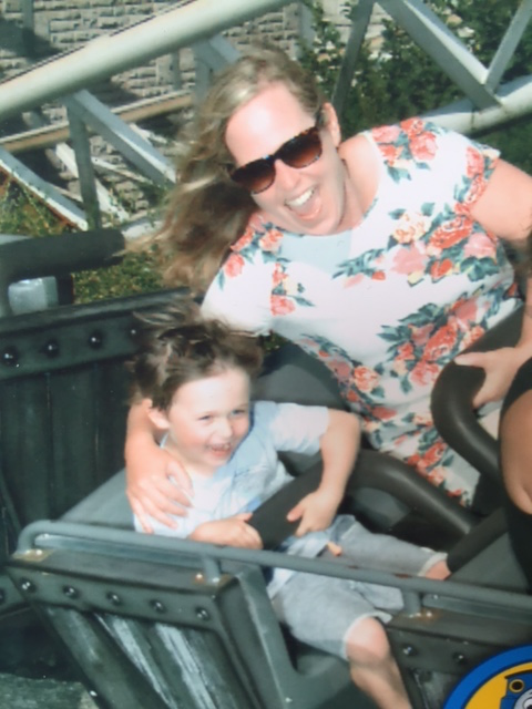 First ever rollercoaster ride